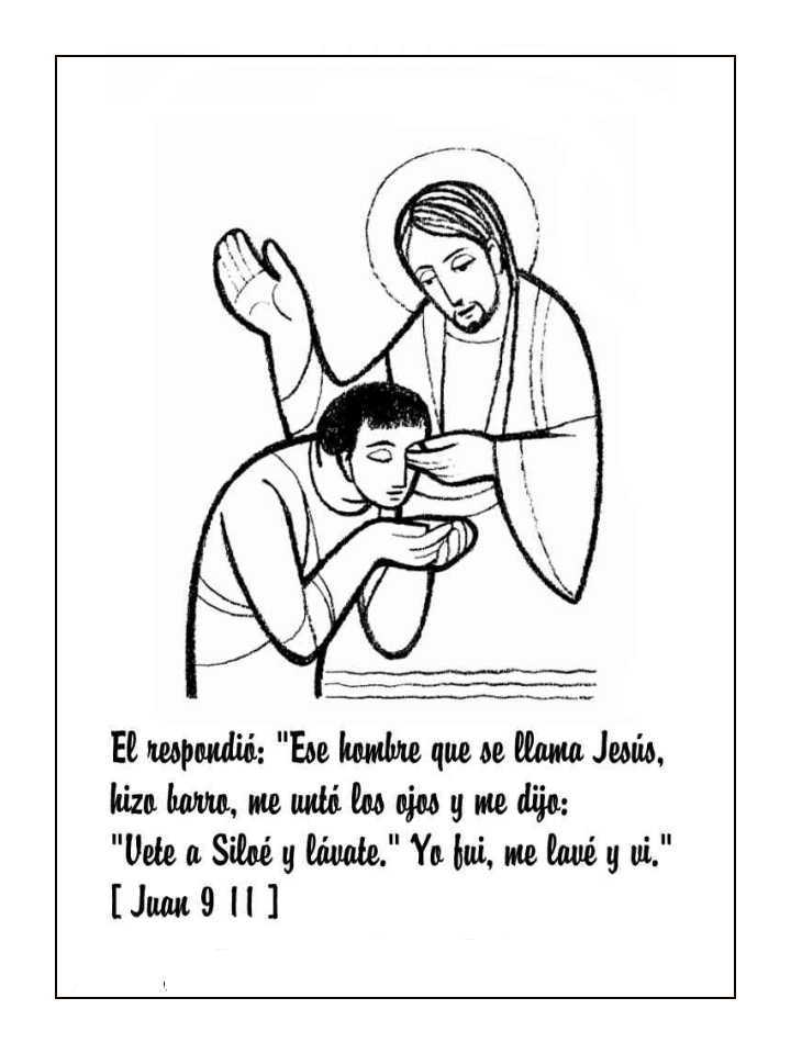 jesus El paralitico y Colouring Pages (page 2)